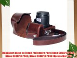 MegaGear Bolsa de Funda Protectora Para Nikon COOLPIX P520 Nikon COOLPIX P530 Nikon COOLPIX