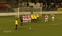 La pire combinaison sur coup franc du NAC Breda