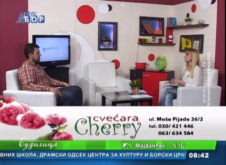 Budilica gostovanje (Saša Radulović), 27. januar 2016. (RTV Bor)