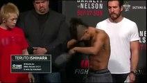 UFC Japan- MMA fighter hits on Filipina Octagon girl 2016