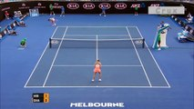 Maria Sharapova's aces in Australian Open 2016