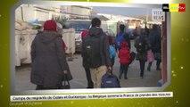 Camps de migrants : La Belgique somme la France de prendre des mesures