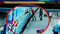 Woman jumps off moving train, squashed to death