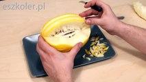 016. Darmowy kurs carvingu koszyk z melona _ Free carving course sugar melon basket