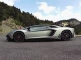 Essai Lamborghini Aventador SV LP 750-4 dans les Alpes