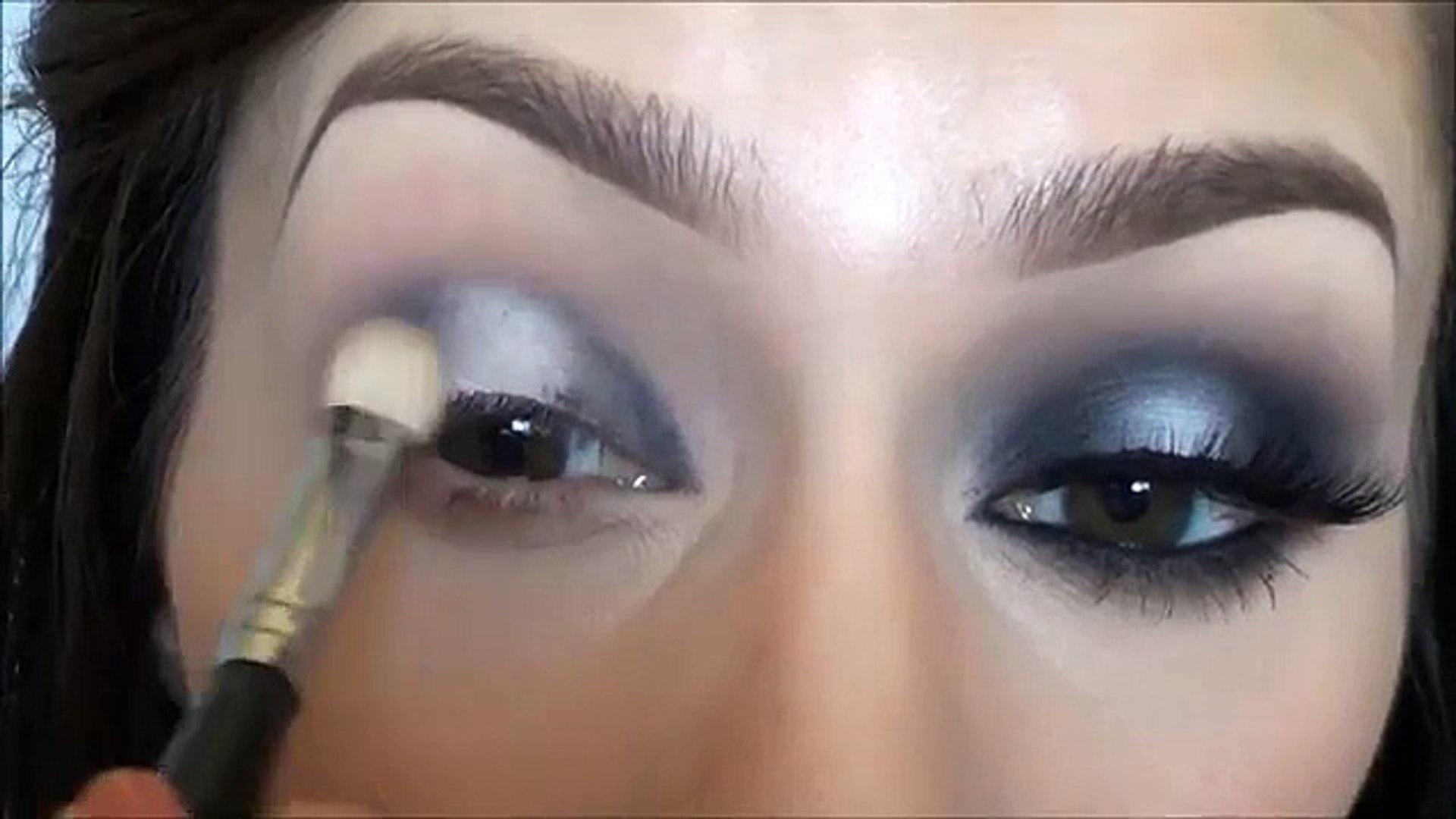 Matte Black and White Makeup Tutorial