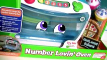 Baking Oven Toy ❤ Leap Frog Number Lovin' Oven Learning Kids Toy Bake Pizza Sweets Treats Cupcakes (FULL HD)