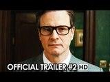 Kingsman: The Secret Service Official Trailer #2 (2015) - Matthew Vaughn Movie HD
