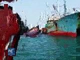 Chinese fishing boat capsizes off S Korean island 2016