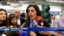 """Myriam El Khomri: """"Il y a eu une hausse du nombre de demandeurs d'emploi sur l'année 2015"""""""