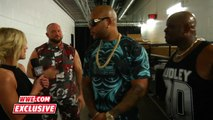 WWE.com Exclusive - Renee Young Interviews Flo Rida and The Dudley Boyz