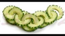 021. Free vegetable carving course cucumber chain _ Darmowy kurs carvingu łańcuszek z ogórka