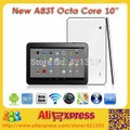 Newest 10 inch Octa Core Allwinner A83T Android 4.4 OS Dual Camera Bluetooth WIFI HDMI Android Tablet PC RAM 1GB ROM 16GB+Gifts -in Tablet PCs from Computer