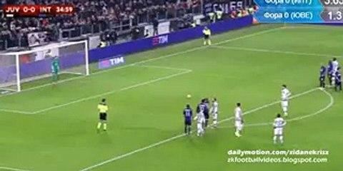 1-0 Álvaro Morata Penalty - Juventus v. Inter 27.01.2016 HD