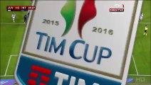 1-0 Álvaro Morata Penalty Goal Italy  Coppa Italia  Semifinal - 27.01.2016, .Juventus FC1 0- Inter Milano