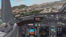 FSX Hong Kong Kai Tak Fly Tampa amazing scenery addon! - video