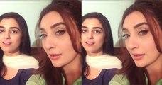 Maya Ali And Ayesha khan singing Mann Mayal OST