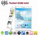 Teclast G18d mini pad Quad Core Tablet PC 3G Phone Call GPS BT WCDMA 7.9 IPS 1024x768 pixels MTK8389 1.2GHz 8GB Rom Android 4.2-in Tablet PCs from Computer