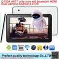 10.1 inch Octa  Core Android tablet with  Dual Camera Bluetooth WIFI  HDMI and  2 micro USB slot  Android 4.4 OS  A83T Q102A-in Tablet PCs from Computer