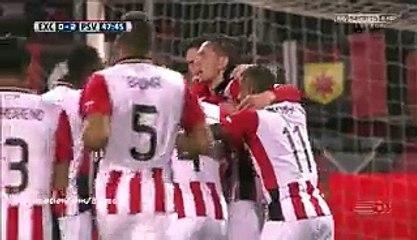 Jorrit Hendrix Super Goal HD - Excelsior 0-2 PSV - 24-01-2016 Eredivisie