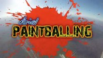 Extreme Skydiving Paintball Battle