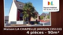 A vendre - Maison/villa - LA CHAPELLE JANSON (35133) - 4 pièces - 90m²