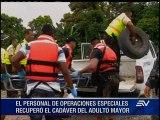 Dos víctimas mortales dejaron las inundaciones en Esmeraldas y Manabí