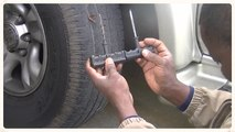 Tire repair movie.  Watch a couple of others on this subject first, but this is the best and easy way.This could be done without completely de-inflating the tire  ON THE SIDE OF A SAFE PLACE.. You can plug while there is still air -