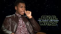 STAR WARS THE FORCE AWAKENS - Interview with Daisy Ridley, Harrison Ford, John Boyega - Movies Film Celebrity