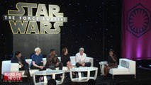 STAR WARS THE FORCE AWAKENS - PRESS CONFERENCE - Harrison Ford, John Boyega - Movies Film Celebrity