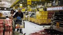 Earthquake aftermath footage - Christchurch Earthquake 23 December 2011  Disastrous Earthquakes