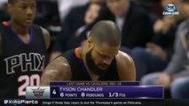 Tyson Chandler Airballs a Free-Throw