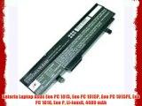 Bateria Laptop Asus Eee PC 1015 Eee PC 1015P Eee PC 1015PE Eee PC 1016 Eee P Li-ionx6 4400