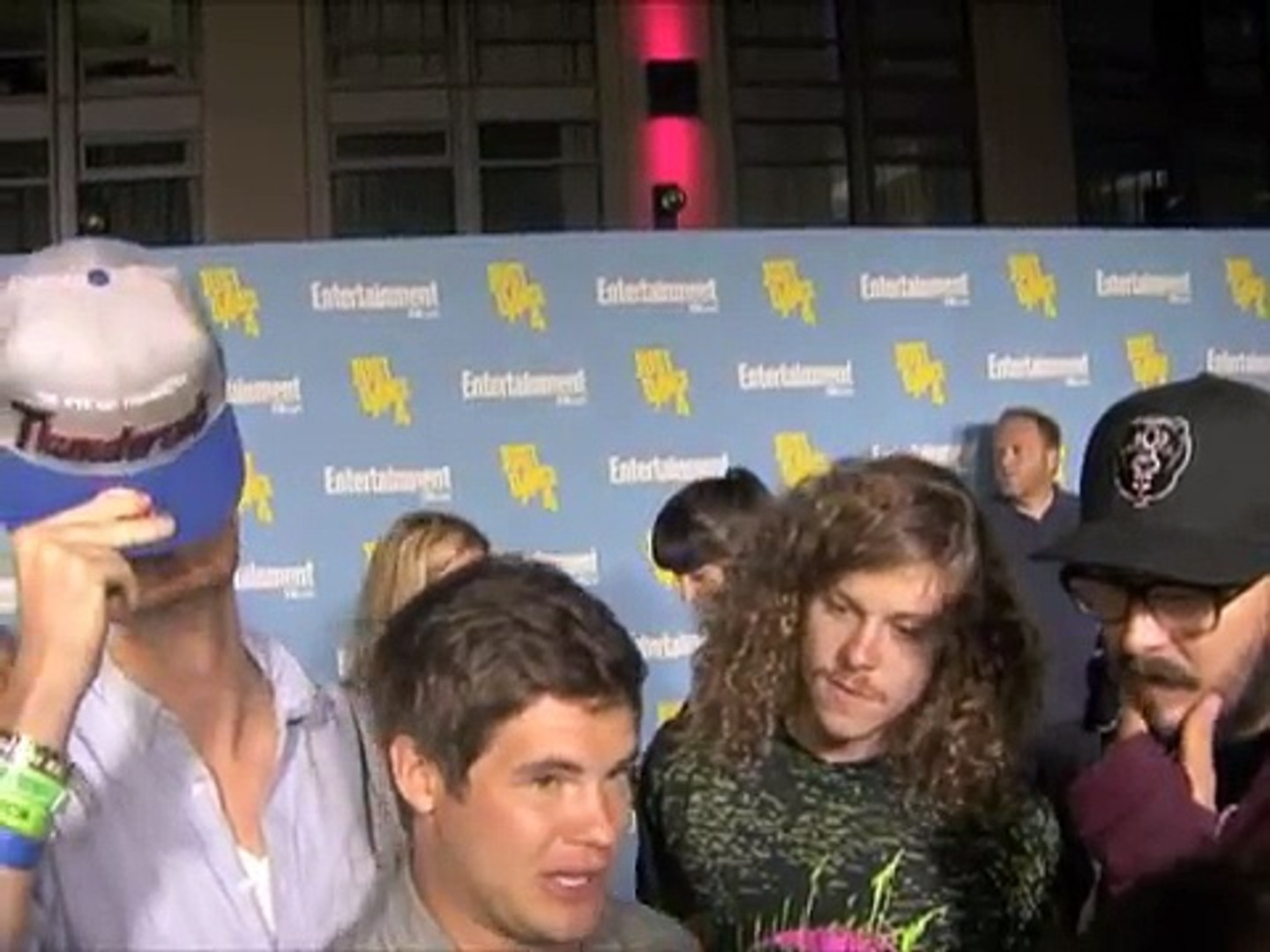 Workaholics Cast Interview 2012 Comic Con