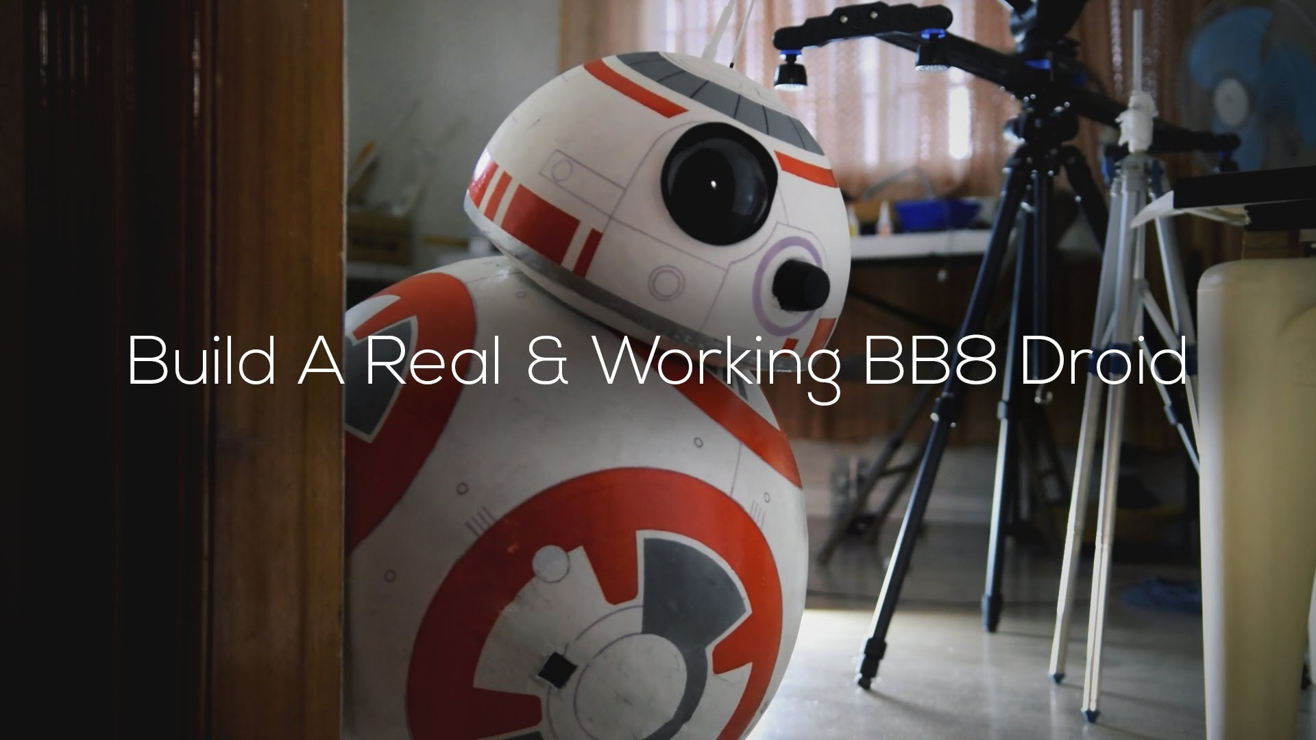 Build A Life Size Phone Controlled Bb8 Droid Full Diy Tutorial