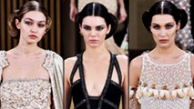 Kendall Jenner, Gigi Hadid SPOTTED Leaving Chanel Show