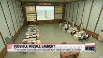 N. Korea could abruptly launch long range ballistic missile: S. Korea
