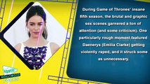 Emilia Clarke Hates Graphic 'Game Of Thrones' S*x Scenes
