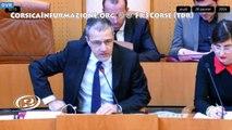 Assemblée de #Corse - Discours du Président de l'Assemblée @JeanGuyTalamoni