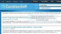 CurationSoft.com - Drag and Drop Options for Facebook V2