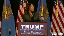 Sarah Palin Blames Obama for Sons PTSD and Domestic Violence Arrest