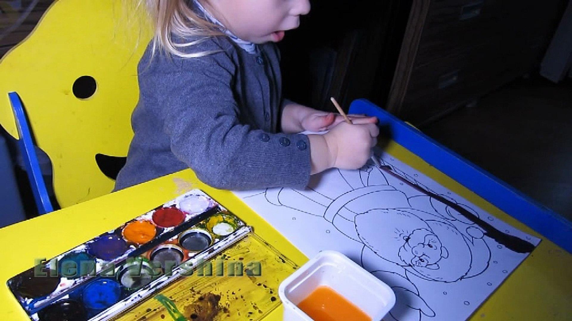 Раскраски для детей Возраст 2 года 7 месяцев Kids Coloring