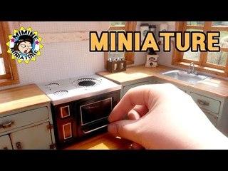 미니어쳐 촛불레인지 만들기 miniature - Candle cooker