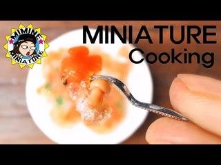 미니어쳐 진짜요리!! 탕수육 만들기 (부먹?찍먹? 나는부먹!!) Miniature real cooking - Sweet and sour pork