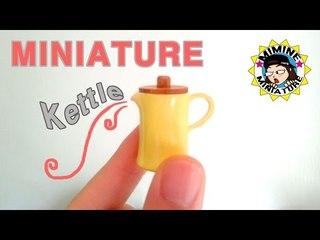 미니어쳐 주전자 만들기 miniature - Kettle