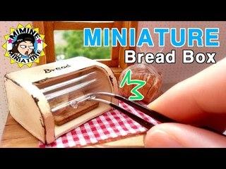 미니어쳐 브레드박스 만들기 miniature - Bread Box
