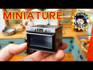미니어쳐 오븐 만들기 (드디어 만듬+ㅁ+) Miniature - Oven / 미미네미니어쳐