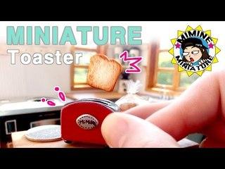 미니어쳐 토스트기 ( 식빵이 뿅! ) miniature - Toaster