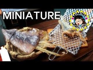 미니어쳐 마른오징어 만들기 (진짜오징어) Miniature - Dried squid