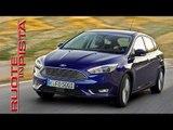 Ford Focus Test Drive | Marco Fasoli prova | Esclusiva Ruote in Pista